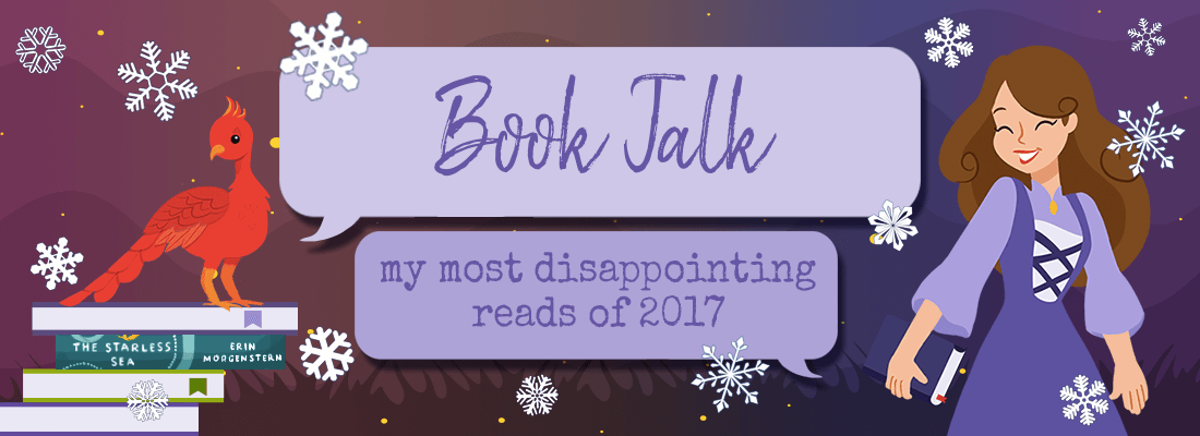 My Most Disappointing Reads of 2017