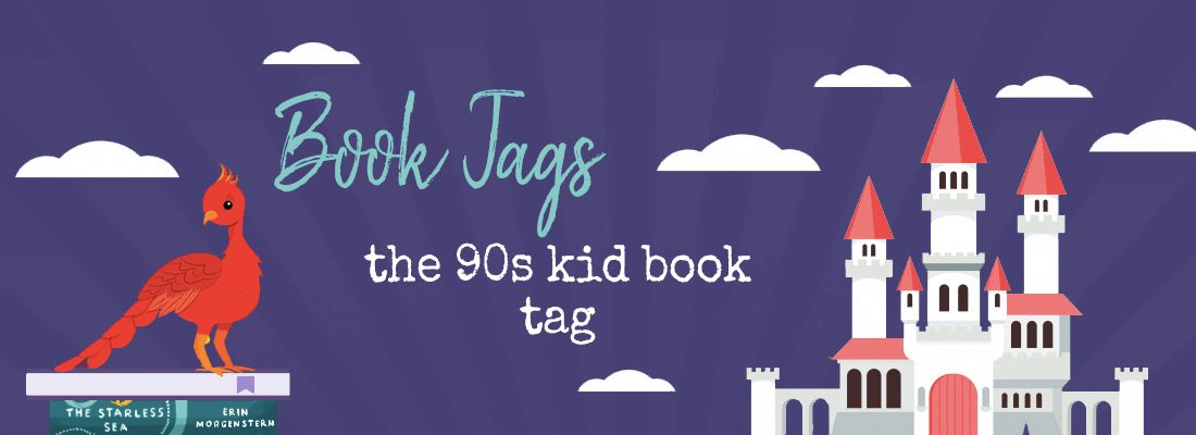 The 90s Kid Book Tag