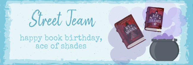 Happy Book Birthday, Ace of Shades