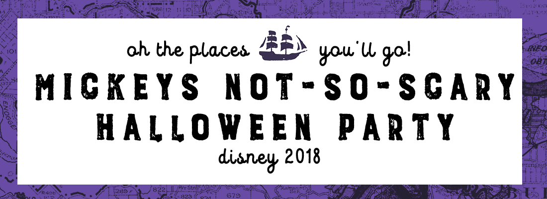 Mickey's Not-So-Scary Halloween Party (Disney Pt. 3)