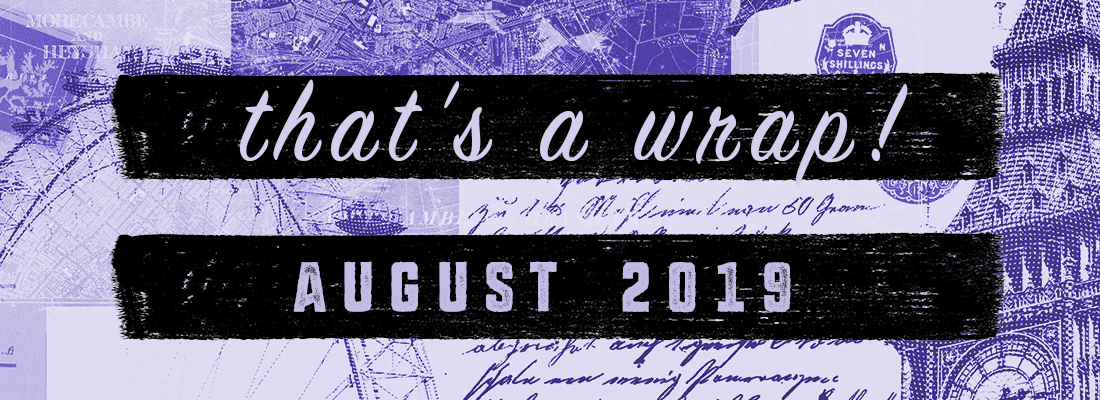 In Which I Actually Work on my WIP & Read Shakespeare Retellings: The August Wrap Up!