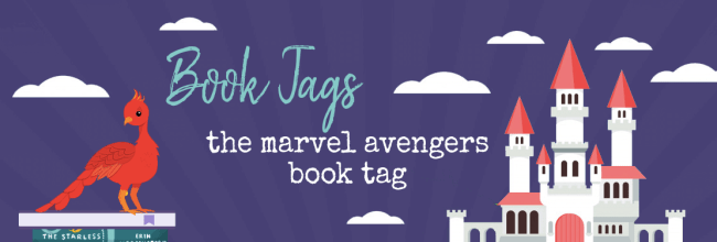 AVENGERS!  ASSEMBLE!  – The Marvel Avengers Book Tag
