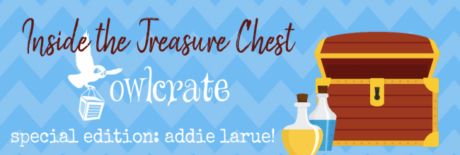 Owlcrate Special Edition Unboxing:  The Invisible Life of Addie LaRue (SPOILERS!)
