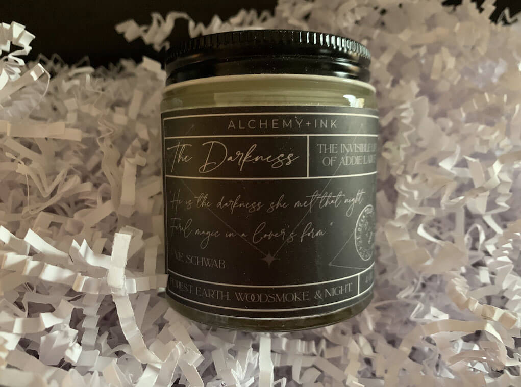 The Darkness Candle by Alchemy and Ink