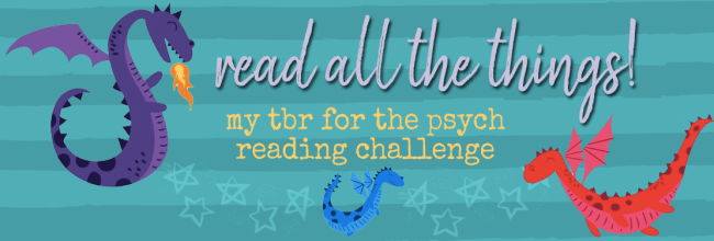 The Psych Reading Challenge – Because Who Doesn't Love Reading Challenges Based on Cancelled TV Shows That Just Won't Die?