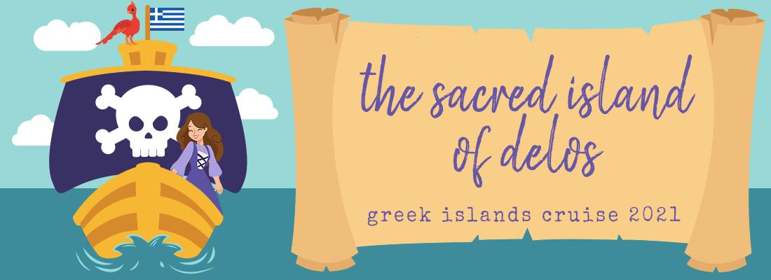 The Sacred Island of Delos (Greek Islands Cruise 2021)