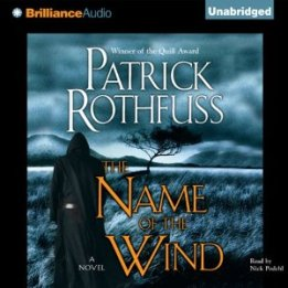 The Name of the Wind by Patrick Rothfuss (Audiobook)