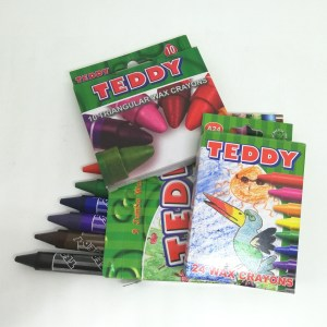 Teddy Wax Crayons