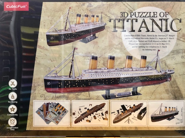 3D Puzzles with LED Lights – TITANIC