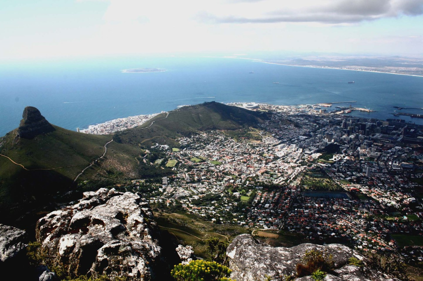 Table Mountain View From The Top – In Photos