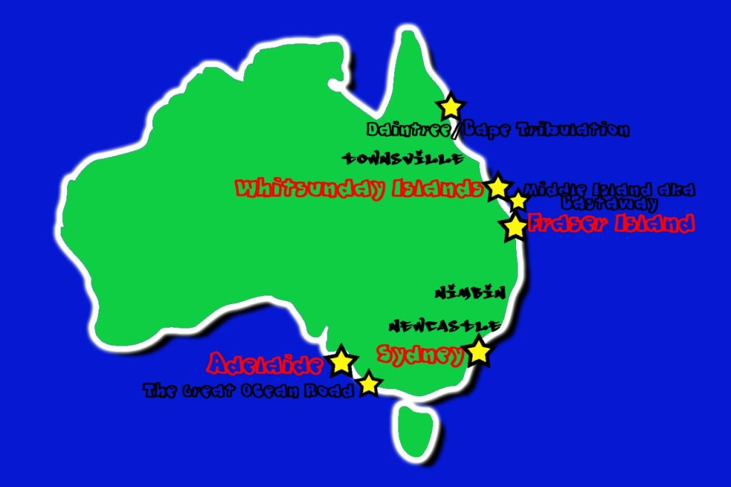 My Favourite 7 Stops in Australia and 3 To Avoid