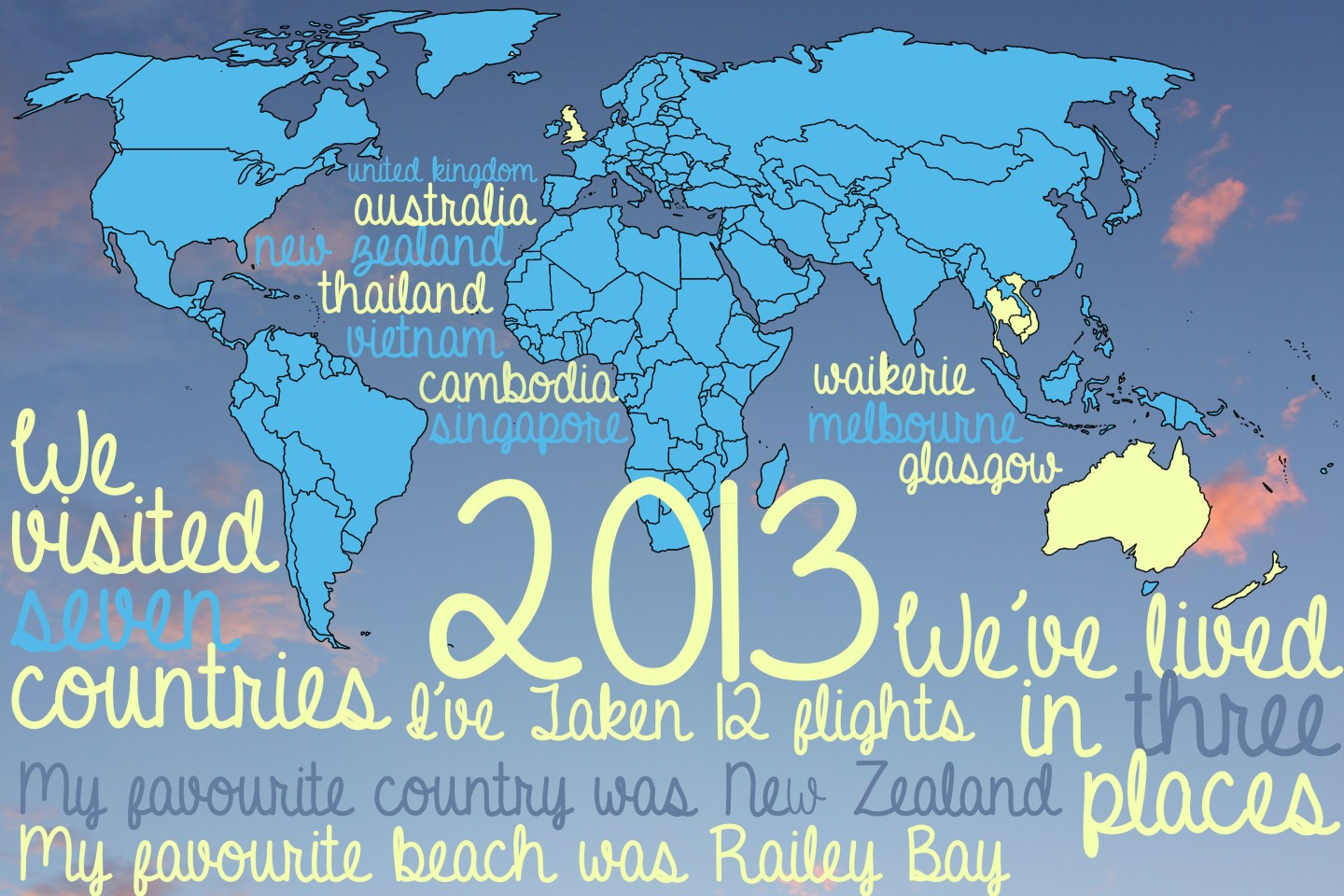 2013 Round Up – An Infographic