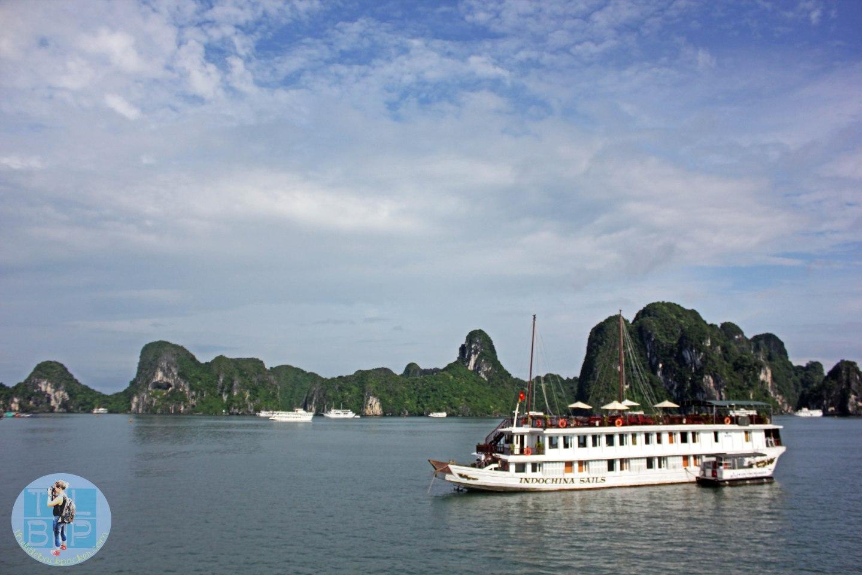 Cruising Halong Bay On A Junk Boat