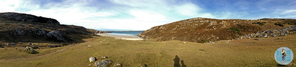 Empty and gorgeous beaches was a common occurrence while Roadtrippin' in Scotland