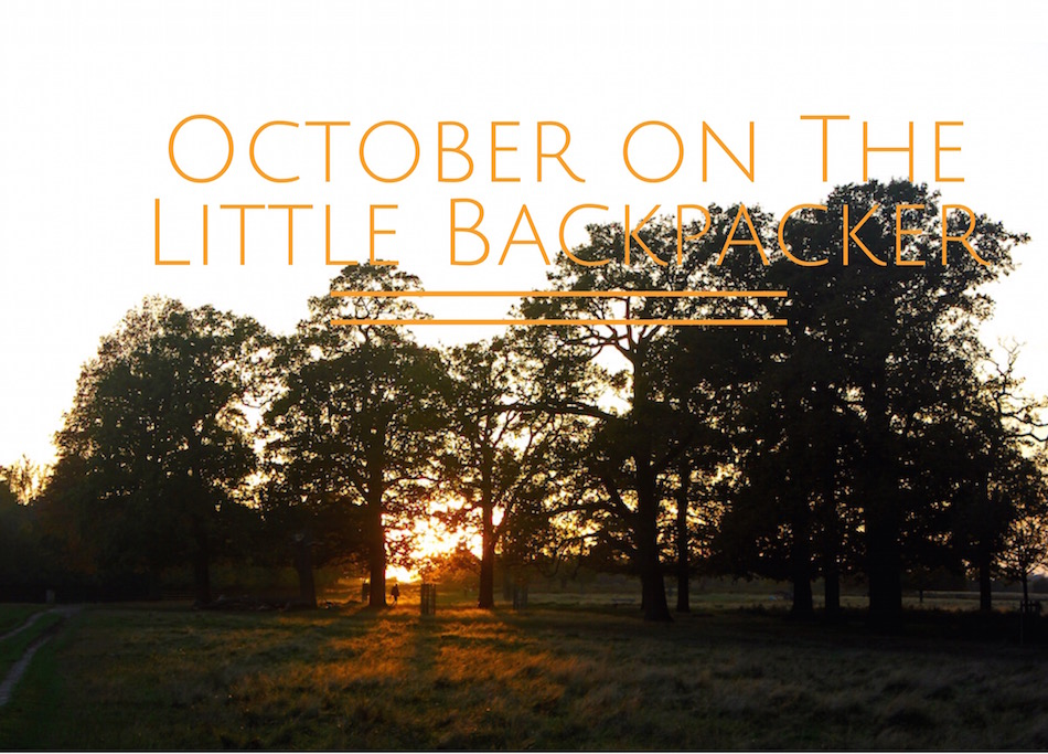 October on The Little Backpacker