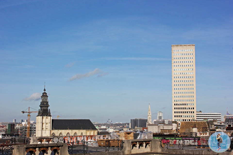 View Across Brussels