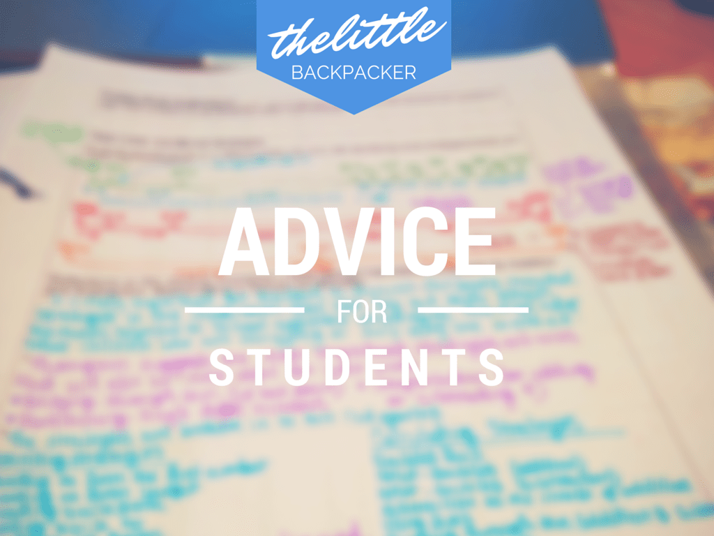 10 Pieces Of Advice For Students