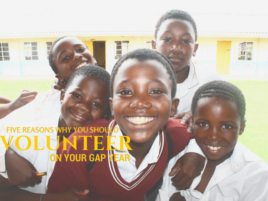 Five Reasons You Should Volunteer on Your Gap Year