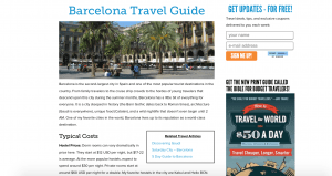 Barcelona ideas by travel bloggers