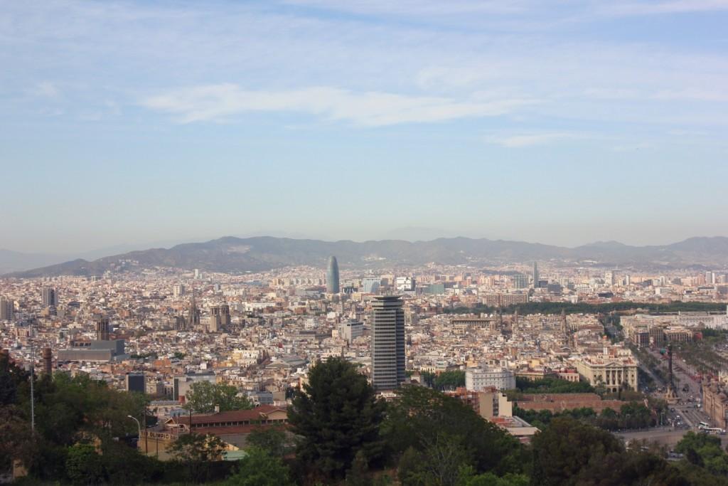Barcelona - view from Montjuic