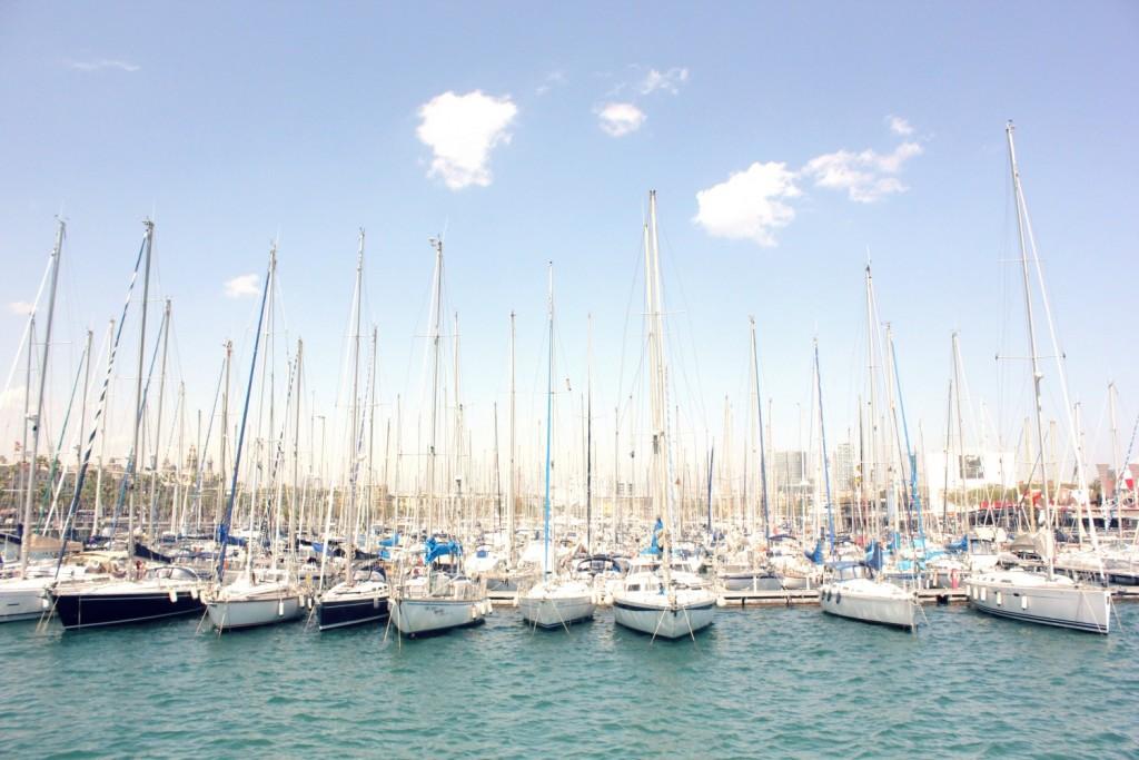Photos of Barcelona - marina