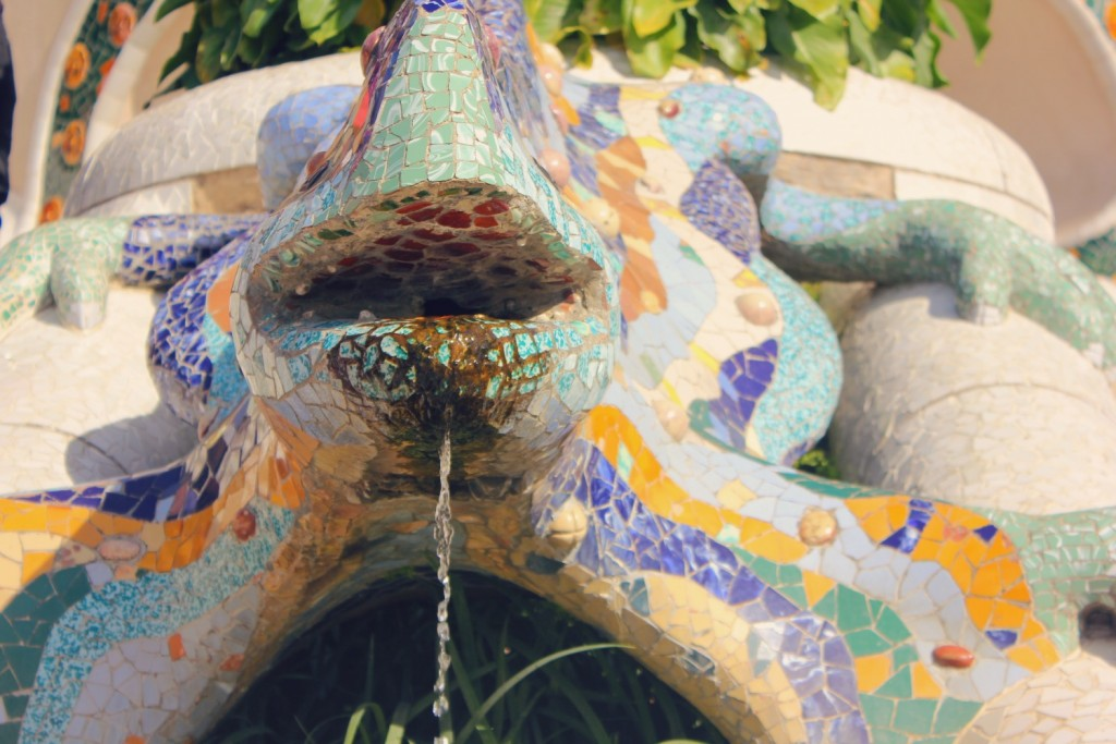 gaudi in Barcelona - park guell
