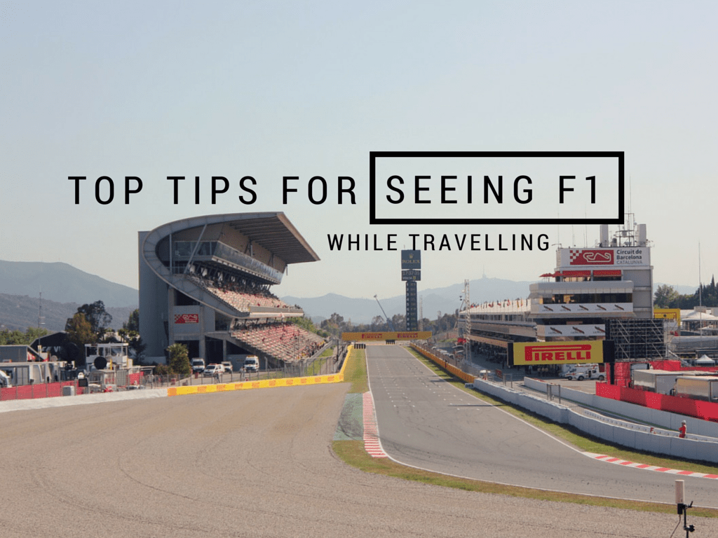 Top Tips For Seeing A Formula One Race