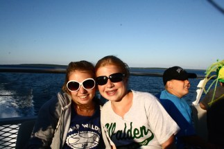Trips up to Mackinaw Island were a highlight for kids and counsellors.