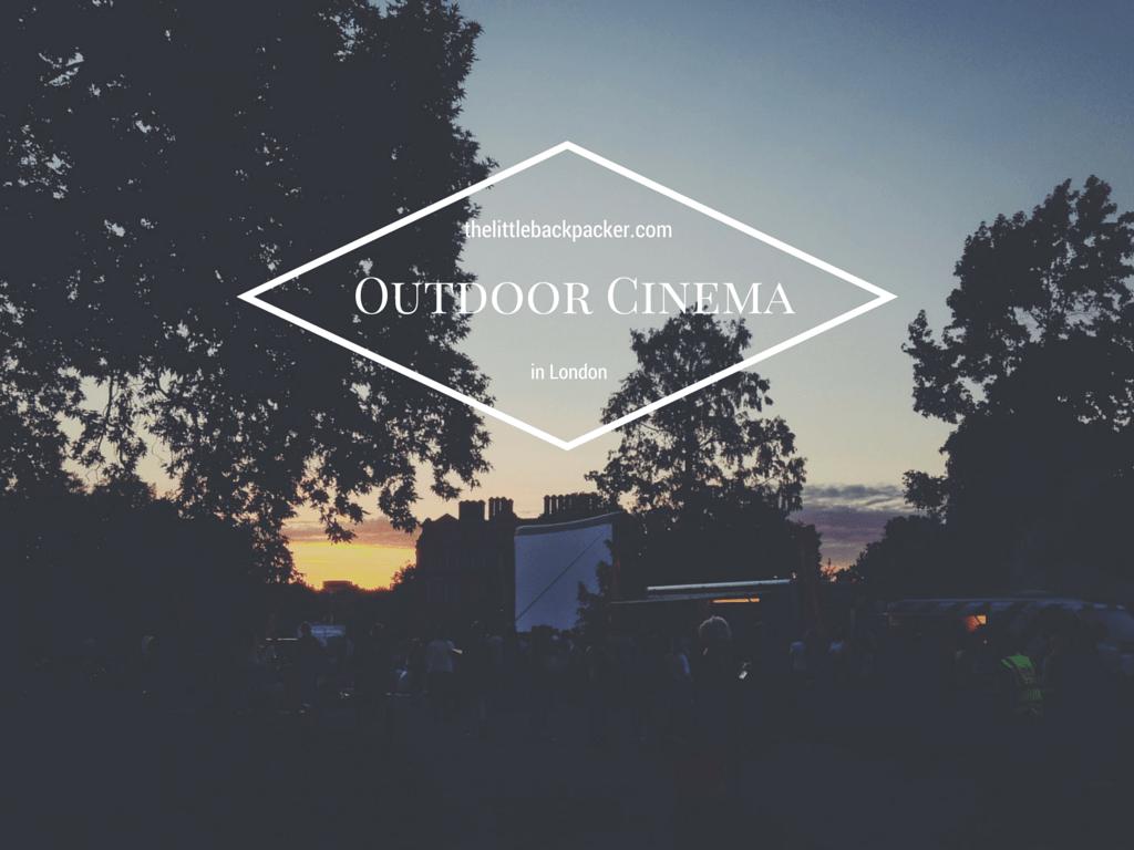 Outdoor Cinema in London