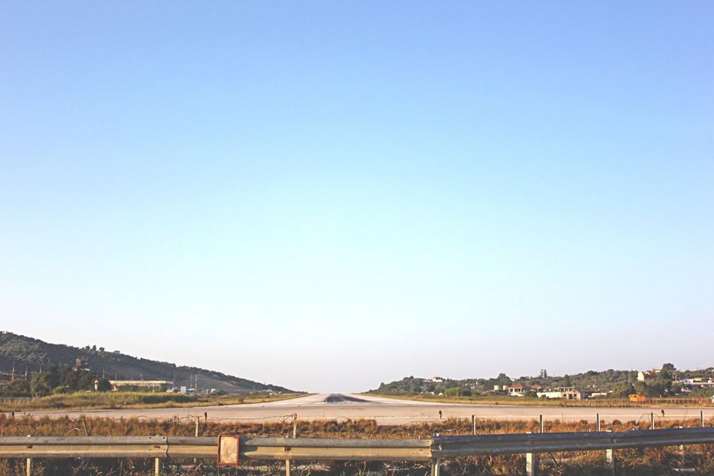 Skiathos Airport Runway