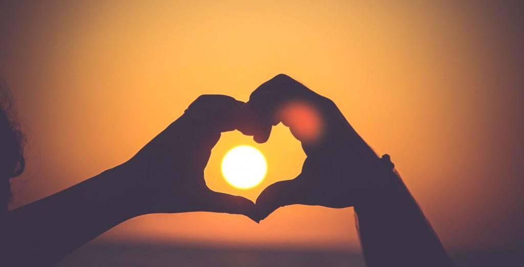 sun in heart