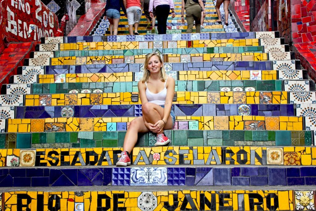 Rio de janeiro - lapa steps