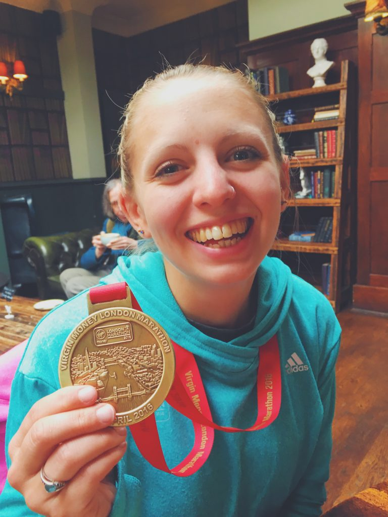 Running the London Marathon 2016