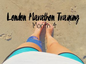 London Marathon Training month 4