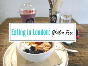 Eating in London gluten free