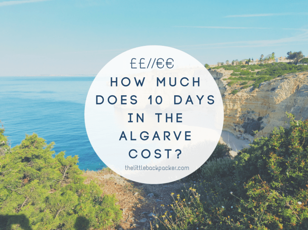 How Much Does 10 Days In The Algarve Cost?