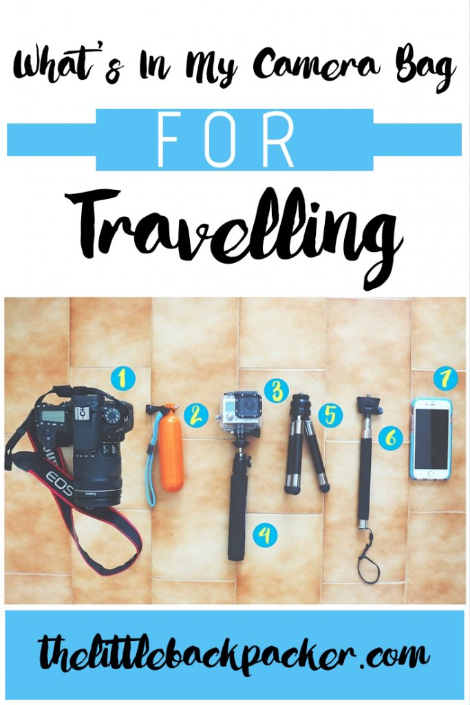 whats in my camera bag for travelling