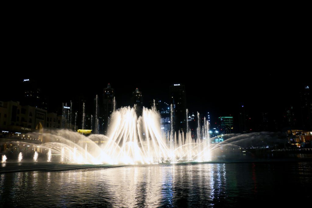 Dubai fountains - 2 day itinerary for dubai