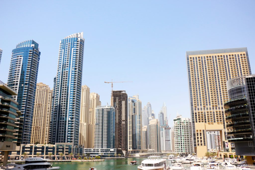Marina views - 2 day itinerary for dubai