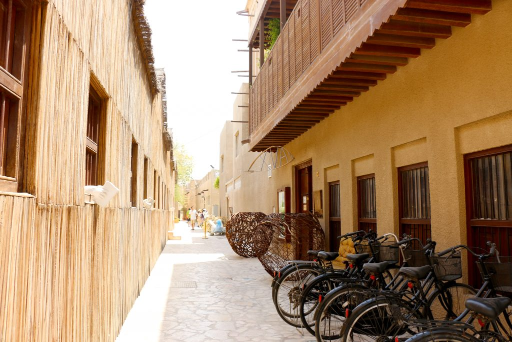 Street in Al Fahidi district - 2 day itinerary for dubai