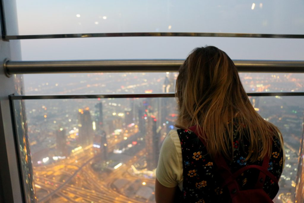 views from Burj Khalifa