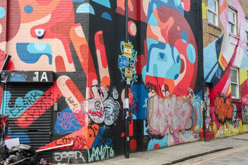 48 hours in London - street art