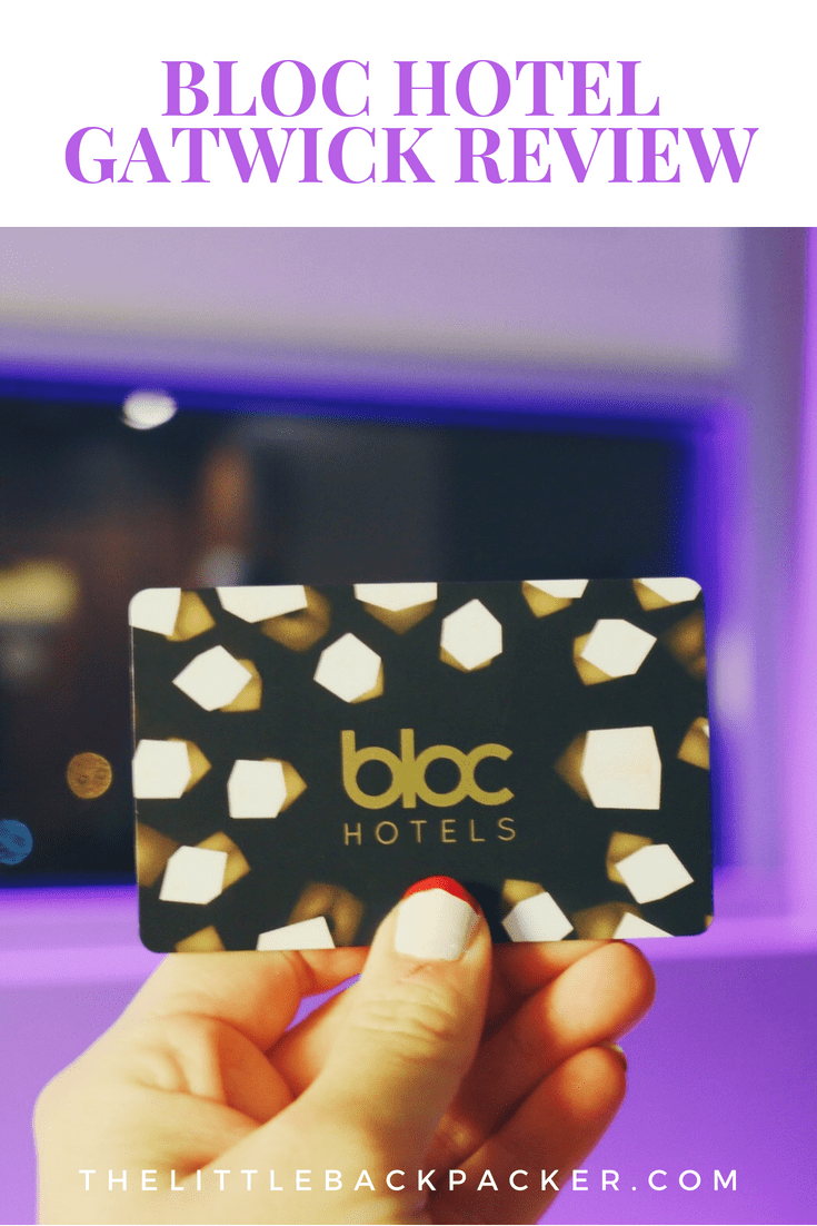 Bloc Hotel Gatwick Review - location, discounts and use of space