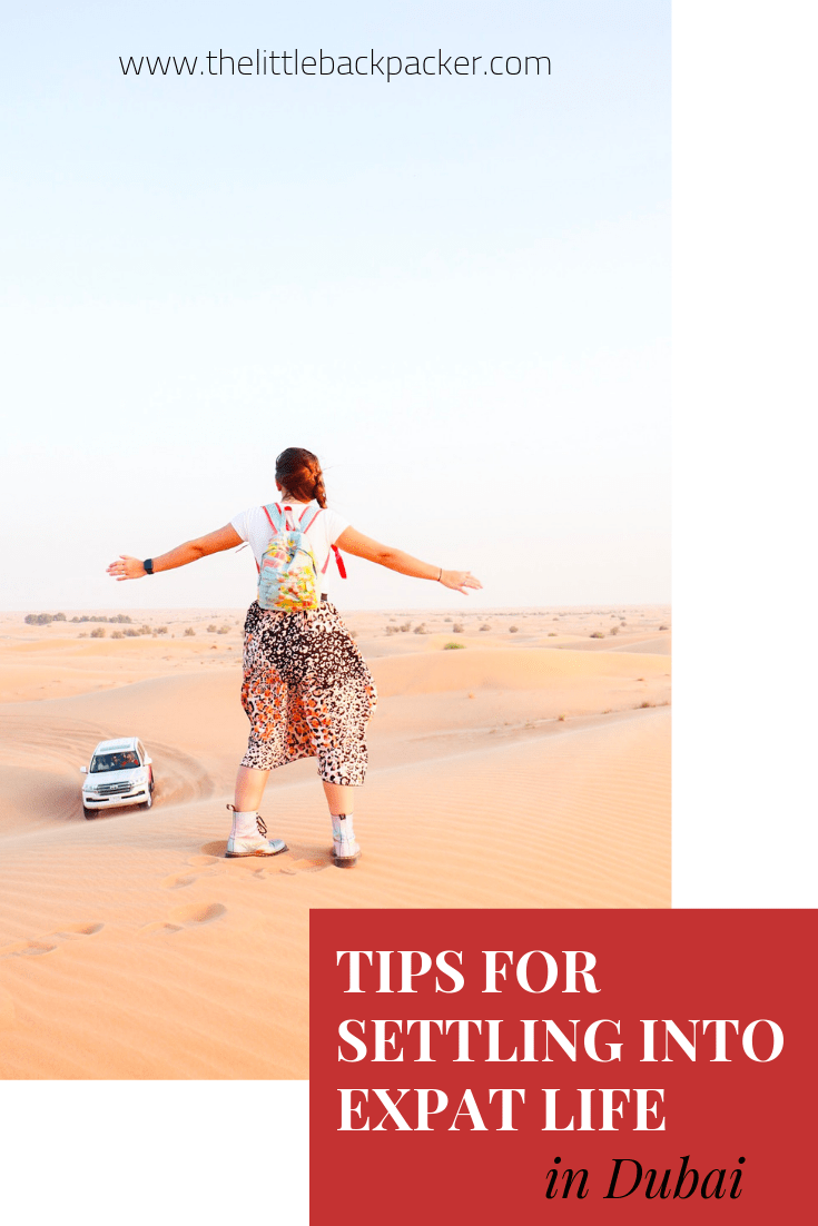 tips for settling into expat life in Dubai