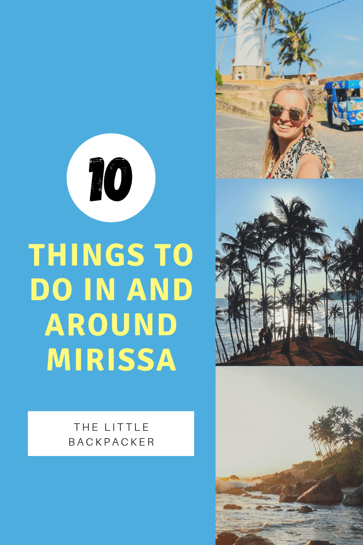 Things to do in and around Mirissa