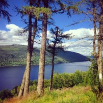 Looking over Loch Tay