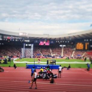 Hampden Park Glasgow 2014 athletics