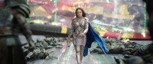 Tessa Thompson as Valkyrie in Thor Ragnarok