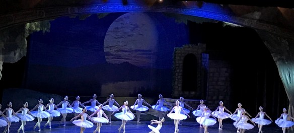 Katherine Barkman as the White Queen in Swan Lake