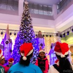 These kids can't wait for the show to start!   Christmas Town at SM Southmall